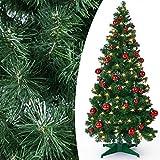 Weihnachtsbaum künstlich 150cm Pop-Up Tannenbaum Christbaum Tanne Weihnachtsdeko