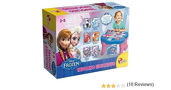 Frozen Tavolino Educativo.Lisciani 46805 Frozen Tavolino Educativo