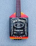 RGM143 Jack Daniels Guitarra en miñatura
