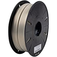Magicwand® Vacuum Packed 1 Kg Premium Exotic Colors PLA Filament ,1.75 mm (Made in India) (PLA Brass)