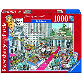 Ravensburger Cities Of The World 1000 Pieces Toys Games