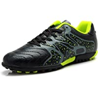 Tiebao Boys' Hard Ground Artificial Speed Pu Leather Football Shoes