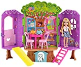 Barbie FPF83 Family Chelsea Treehouse Playset Portable, Child Doll Included, Bright and Colourful, Gift 2 to 5 Years Children Play Set