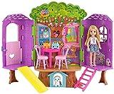 Barbie FPF83 Chelsea Baumhaus Spielset und Puppe
