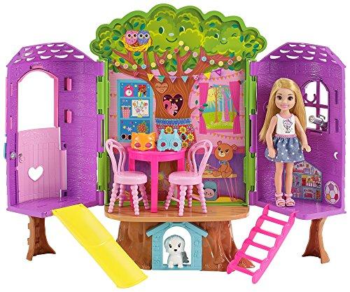 Barbie Chelsea, casa de muñecas Casita del Árbol, juguete +3 años...