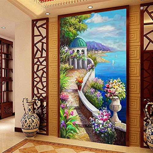 DIY 5D Landscape Diamond Painting Cross-Stitch for Entrance Living Room Bedroom - 2