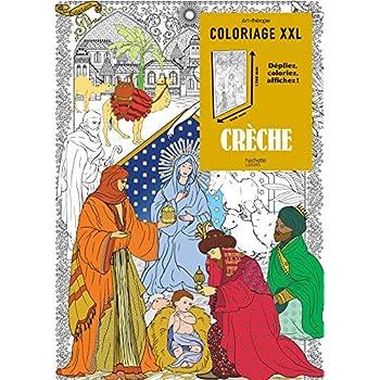 Coloriage XXL crèche