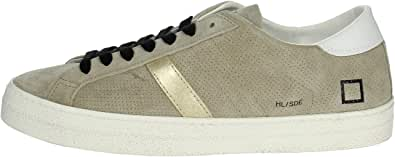 D.A.T.E. Hill Low Perforated/Beige