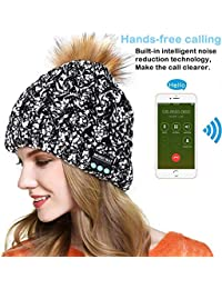 E-More Bluetooth Beanie Cap donne wireless Bluetooth 61bbacc21014