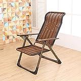YMXLJF Freizeitstuhl, multifunktionale Klappstuhl, Liegestuhl, Outdoor Beach Chair, (Farbe : Flat foot)