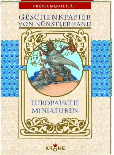Geschenkpapier: Europäische Miniaturen