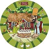 8 Teller * PETTERSSON & FINDUS * für Kindergeburtstag oder Mottoparty // Plates Pappteller Partyteller Peterson Petersson Katze
