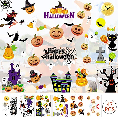 - Halloween Fenster Aufkleber