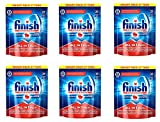 Finish Calgonit All in 1 Plus Smartpack Powerball mit Super Power Spülmaschinentabs 162 Stück (6 x 27 Tabs)