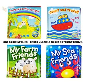 Soft Baby Bath Book - Assorted