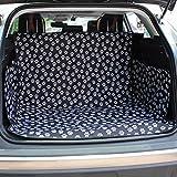 Perfectii Kofferraumschutz, Wasserdicht Hundedecke für Auto Schondecken mit Seitenschutz Kofferraumdecke für Hunde und Verschiedenes, 150 x 115 x 35 cm