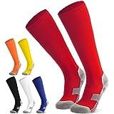 Voetbalsokken voor kinderen, jongeren, sokken, voetbalkousen, sportsokken, trainingssokken, sokken voor voetbal, hardlopen, t