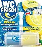 WC-Frisch Duftspüler Citrus/ 75224,gelb: anhaltender Duft, blau: Kalk/Schmutz