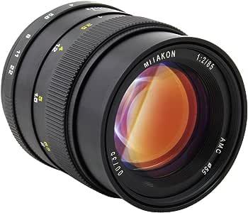Mitakon Zhongyi SLR 85mm F2.0 Silent Frame Prime Camera Lens for Pentax Pk Camera