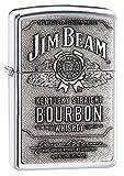 Zippo Jim Beam | Emblem Lighter - Mechero, color color plateado
