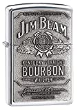 Zippo Original Jim Beam Metallplatte | Klassiker