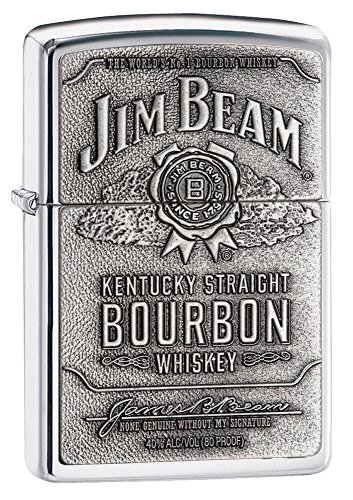 zippo-jim-beam-emblem-lighter-mechero-color-color-plateado