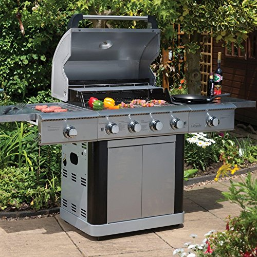 Lifestyle St Lucia Basic 4 Burner Gas BBQ