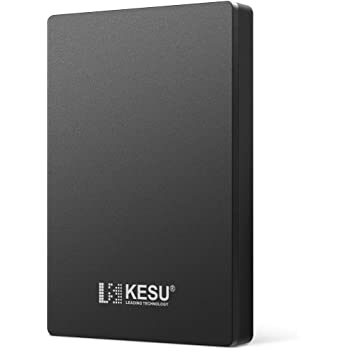 "KESU Hard Disk Esterno Portatile da 2,5 ""da 320GB USB3.0 SATA HDD Storage per PC, Mac, Desktop, Laptop, MacBook, Chromebook, Xbox One, Xbox 360, PS4, PS4 Pro, PS4 Slim (Nero)"