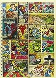 Marvel Comic Strip A4 Notebook