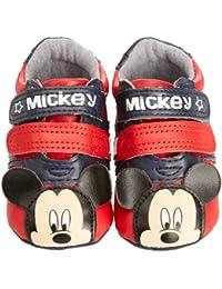 Padders Disney Mickey Trainer Bb, Bottes Classiques Bébé Garçon
