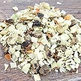 LUCKYS Pastinaken Gemüse Mix Flocken Müsli Ergänzung zu Barf, Nass -Dosen -Trockenfutter (1 kg)