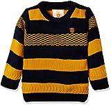 #7: 612 League Baby Boys' Knitwear (ILW17I39015T_Mustard_12-18 months)