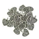 D'argento tibetano cuori filigrana scavano fuori fascino ciondolo, un must per tutti i produttori di gioielli, allegare ad un bracciale o una collana e modificare l'aspetto instantly.Exquisite e di pregevole fattura e pu...