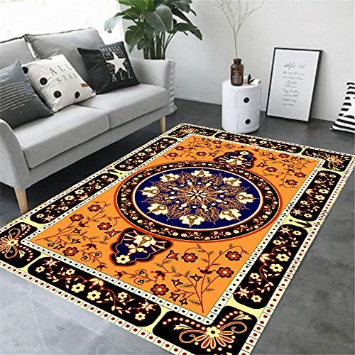 Teppiche Wohnzimmer extra große Teppiche Schlafzimmer Persian Floral Oriental Traditional Area Teppich Soft shag Kinderzimmer Matte Teppich Terrassen Esszimmer (Shag Floral Teppiche)
