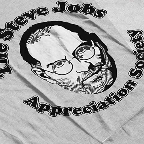 The Steve Jobs Appreciation Society Women's Vest Heather Grey
