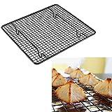 quici 26x 23cm Carbon Stahl Kühlung Racks Tabelle Draht Pfanne Grade Ofen Küche Backgeschirr