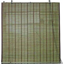 Persiana de bambú ideal para puertas 120 x 250 cm