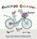 Calendrier d'anniversaires Motif vélo