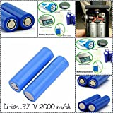 Supermall 18650 Battery 2000 mAh 3.7 volt Rechargeable - Best Reviews Guide