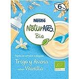 NESTLÉ NATURNES BIO Papilla de cereales Trigo y Avena sabor Vainilla 6 x 240 g