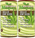 (2 Pack) - Creative Nature - Organic Shelled Hemp Seeds | 150g | 2 PACK BUNDLE