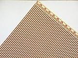 Melody Jane Maison de Poupées Rouge sur Crème Windsor Bande Miniature Impression 1:12 Papier Peint
