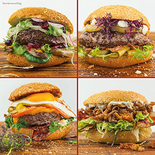 OTTO GOURMETs Burgerwelten Paket - Wagyu / US Black Angus / Bison / Pulled Pork