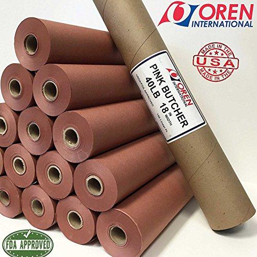 Pink Butcher PAPER BBQ Kraftpapier / Das ORIGINAL aus USA (10 Meter) Metzger Papier