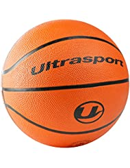 Ultrasport Palla da Basket, Misura 5 con Circonferenza di 70 Cm, Ottima per Bambini/Palla da Basket Morbida con Superficie Antiscivolo, nel Tipico Color Arancione delle Palle da Basket