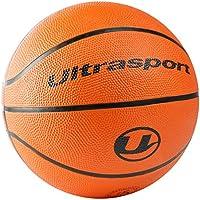 Ultrasport Kinder Basketball, kleinere Größe 5 mit 70 cm Umfang, idealer Basketball für Kinder/Weicher Basketball mit griffiger Oberfläche, Orange