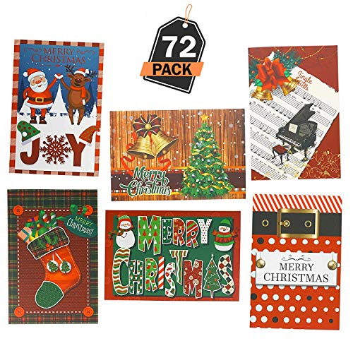 3. Kompanion - 72 tarjetas de felicitación de Navidad