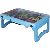 Halsey Multi-Utility Compact | Light Weight |Foldable Study Desk/Computer Table (Blue)