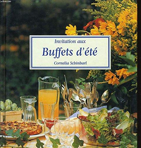 Invitation aux buffets d'été
