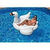 Flotador inflable en forma de Cisne tamaño gigante para la piscina o playa. Cisne flotador hinchable para la piscina o la playa por Integrity co
